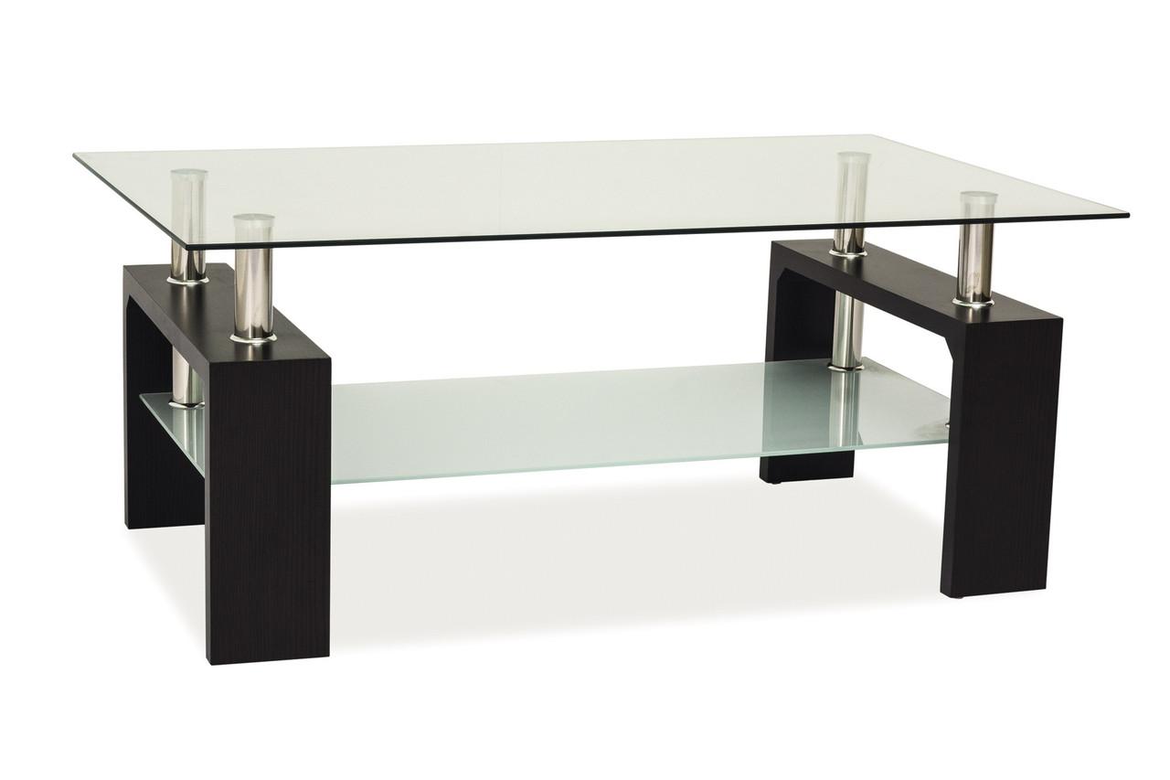Журнальний стіл Меблі Signal Lisa Basic II Венге (LISABASIC2V)