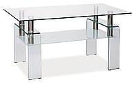 Журнальний стіл Меблі Signal Stella Прозорий (STELLAT)