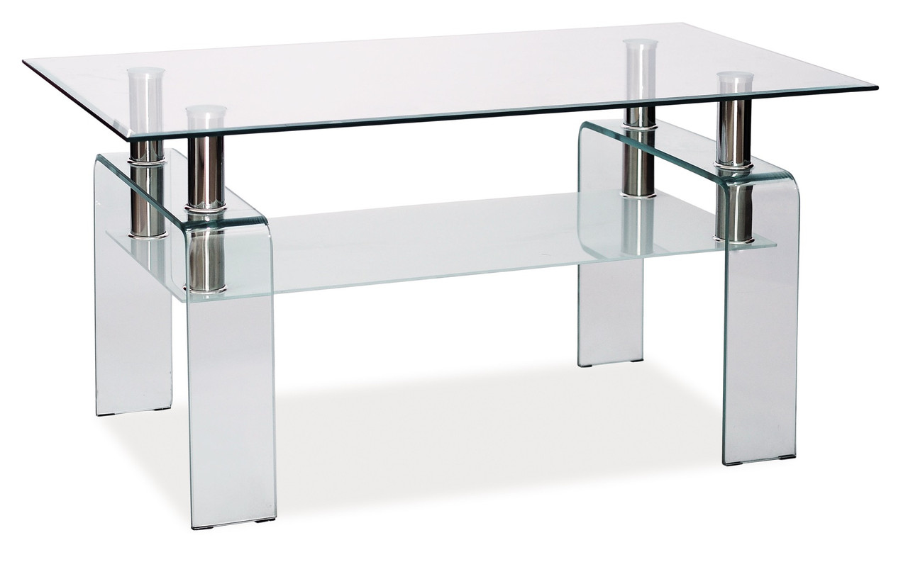 Журнальный стол Signal Мебель Stella Прозрачный (STELLAT)