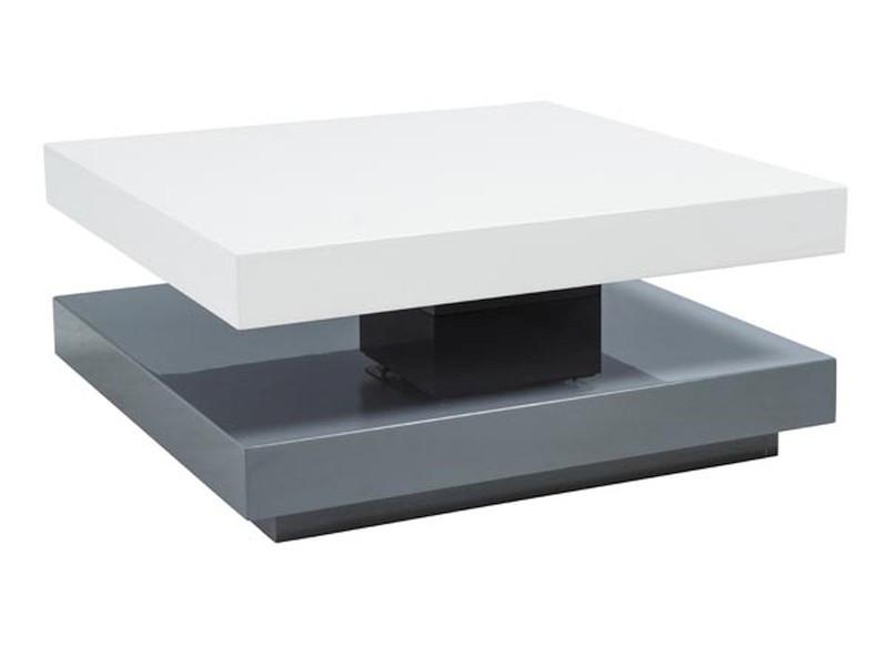 Журнальный стол Signal Мебель Falon Бело/чёрный (FALONBSZ)