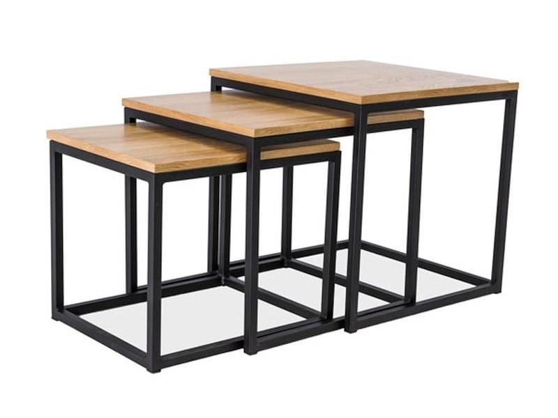 Журнальний стіл Меблі Signal Trio Дуб (TRIOZ)