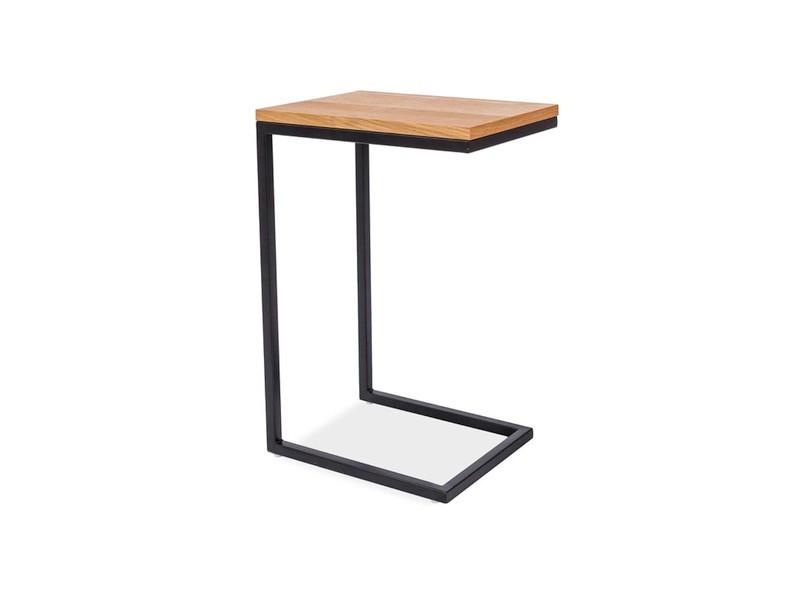 Журнальний стіл Signal Меблі Largo C Дуб/чорний (LARGOCDC)