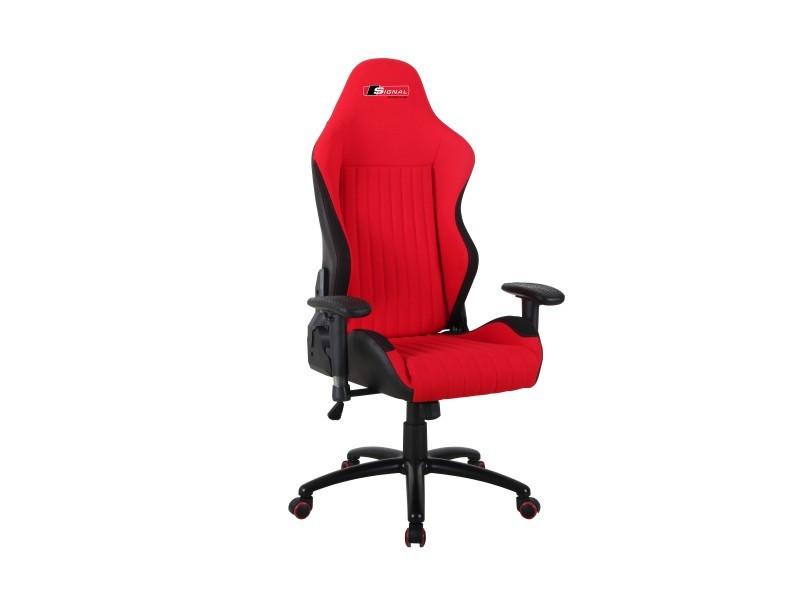 Крісло Signal Alpina Чорний з червоним (OBRALPINACCZ)
