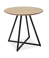 Журнальний стіл Меблі Signal Vita Дуб/чорний (VITADC)