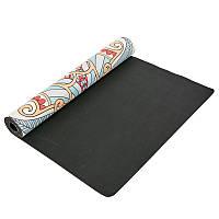 Коврик для йоги замшевый 3 мм Record FI-5662-46, фото 1