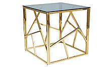 Журнальний стіл Меблі Signal Escada B Золотий (ESCADABZLC)