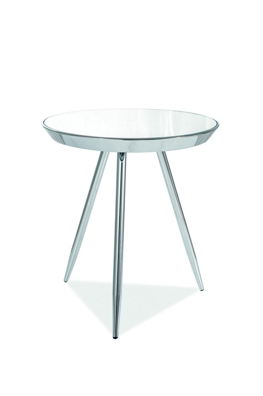 Журнальний стіл Bora C 46х41 Сріблястий (BORACLUCH)