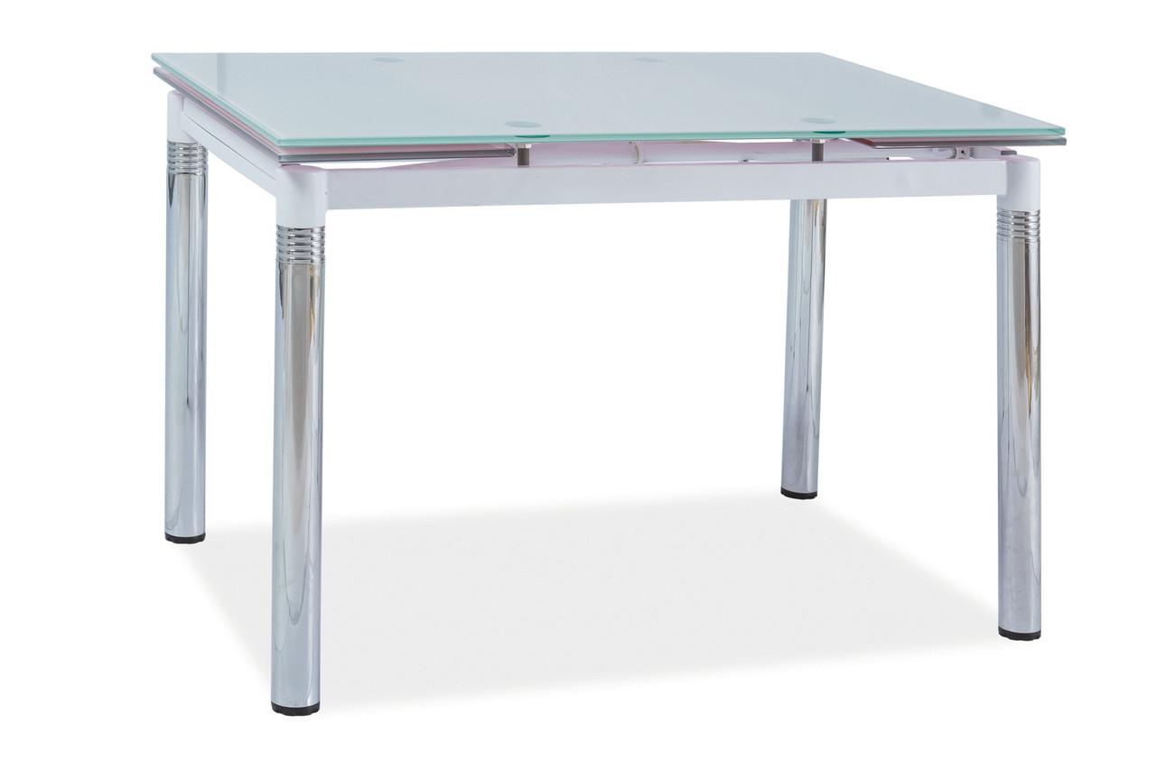 Стіл обідній Меблі Signal GD-018 110(170) х 74 см Білий (GD018BCH110)