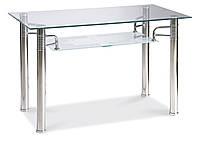 Стол обеденный Signal Reni A 100х70 см Прозрачный (RENIAT100)