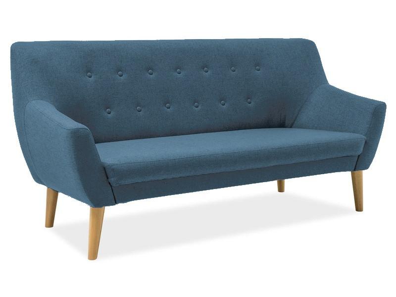 Прямой диван Signal Nordic 3 Голубой (NORDIC3CABLO9)