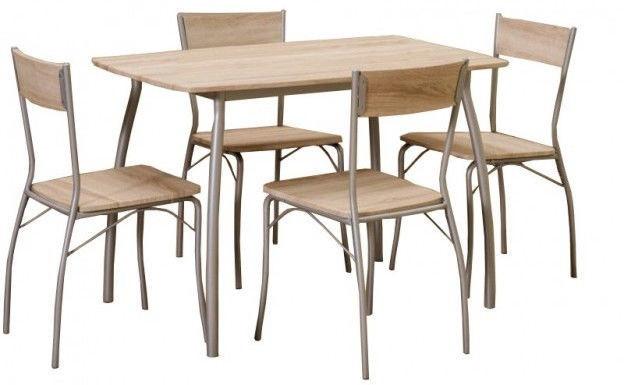 Столовый комплект Signal Мебель Modus 110х72 Дуб сонома (MODUSD)