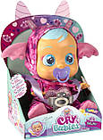 Cry Babies Интерактивная кукла пупс Плачущий младенец Бруни Дракон, фото 2