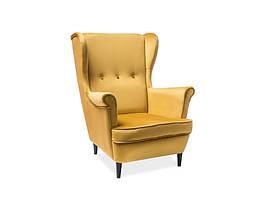 Кресло Signal Lord VELVET Желтый (LORDV68)