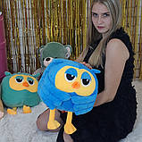 Игрушка подушка плед  сова 3 в 1, фото 3
