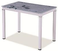 Стіл обідній Меблі Signal Damar 80 x 60 см Білий (DAMARB80)