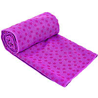 Йога полотенце (коврик для йоги) SP-Planeta FI-4938 (фиолетовый)
