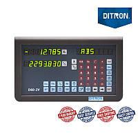 2 оси TTL 5 вольт LED дисплей устройство цифровой индикации D60-2