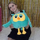 Игрушка подушка плед  сова 3 в 1, фото 2