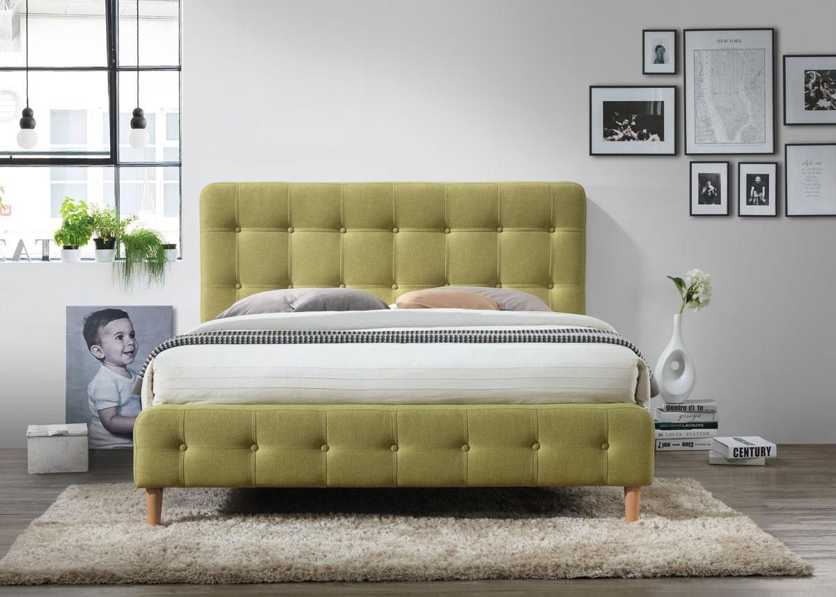 Двуспальная кровать Signal Alice 160X200 Зеленый (ALICE160Z)