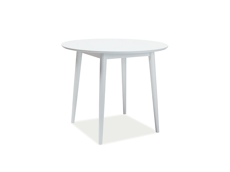 Стол обеденный Signal Larson 90х90 см Белый (LARSONB90)