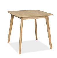 Стол обеденный Signal Mosso III 80х80 см Дуб (MOSSOIIID80)