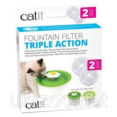 Сменный фильтр для поилки Catit, 2 шт. (для товаров арт. 43742, арт. 55600)