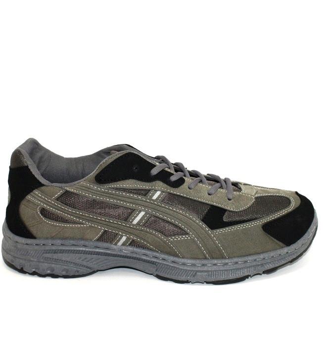 Мужские демисезонные кроссовки эко замша