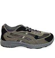 Мужские демисезонные кроссовки эко замша, фото 1