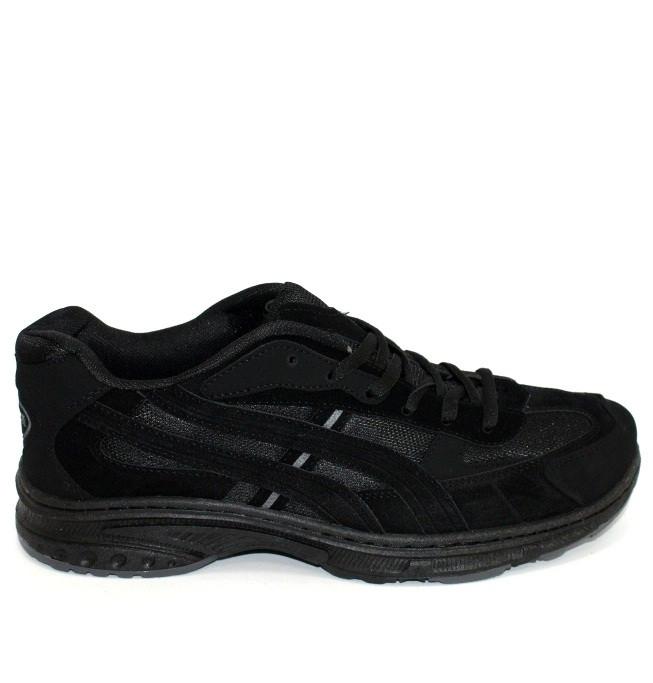 Осенние мужские классические кроссовки черного цвета
