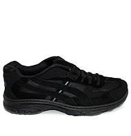 Осенние мужские классические кроссовки черного цвета, фото 1