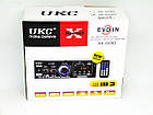 Усилитель UKC AK-699BT USB Блютуз 300W+300W 2х канальный, фото 7
