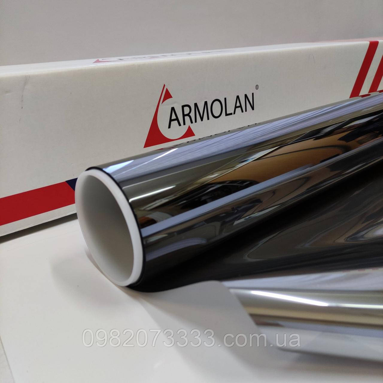 Armolan HP Platinum 20 солнцезащитная металлизированная плёнка для внутренней поклейки (1,524) (пм)