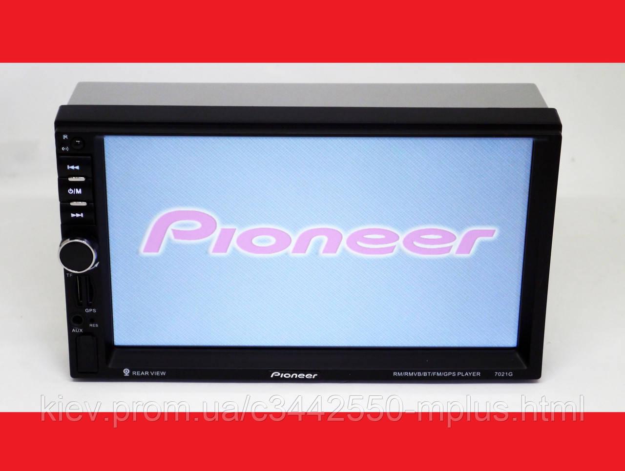 2din автомагнитола Pioneer 7021G GPS НАВИГАЦИЯ  (короткая база)