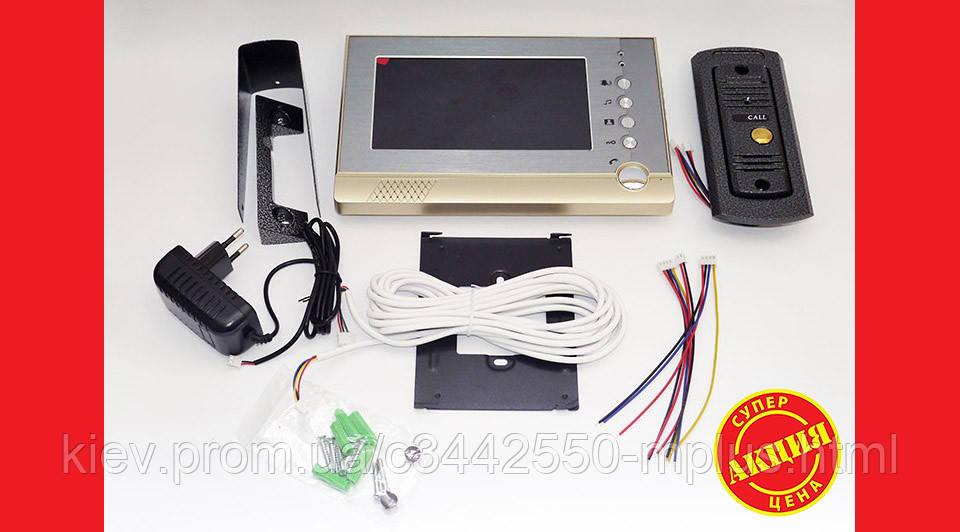Домофон V80P-M1 с картой памяти