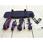 Зеркало-видеорегистратор DVR L900 full hd с выносной камерой заднего вида, фото 7