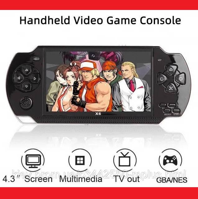 """SONY PSP Игровая Приставка консоль 4.3"""" MP5 4Gb (copy)"""