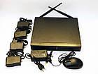 Видеорегистратор DVR WiFi KIT HD720 4-канальный (4камеры в комплекте)  БЕСПРОВОДНОЙ, фото 2