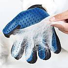 Перчатка для вычёсывания шерсти True Touch, фото 3