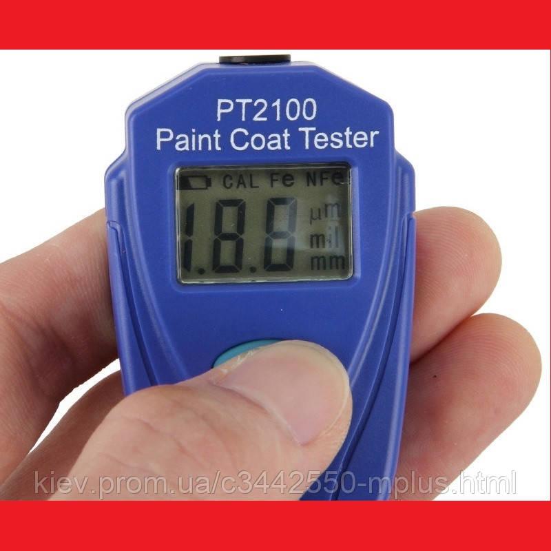 PT2100 Толщиномер краски цифровой