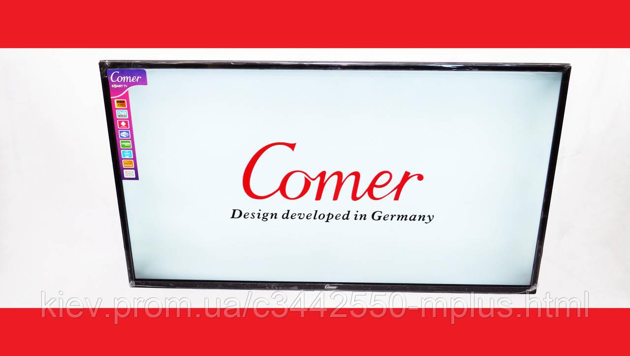 """LCD LED Телевизор Comer 40"""" Smart TV, FHD, WiFi, 1Gb Ram, 4Gb Rom, T2, USB/SD, HDMI, VGA, Android 4.4"""