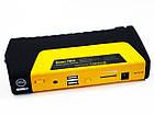 Car jump starter 20000mAh Повер банк зарядно пусковое устройство для машины 2хUSB+Фонарик + Компрессор, фото 9
