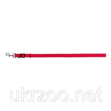 Поводок Trixie из нейлона, регулируемый «Classic» XS-S 1,20-1,80 м / 15 мм (красный) 14113