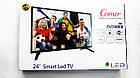 """LCD LED Телевизор Comer 24"""" Smart TV, WiFi, 1Gb Ram, 4Gb Rom, T2, USB/SD, HDMI, VGA, Android 4.4, фото 10"""