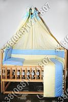 """Детское постельное белье в кроватку """"Прапор"""" комплект 7 ед."""