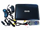 """11"""" DVD Opera NS-1180 Портативный DVD-проигрыватель с Т2 TV USB SD, фото 2"""
