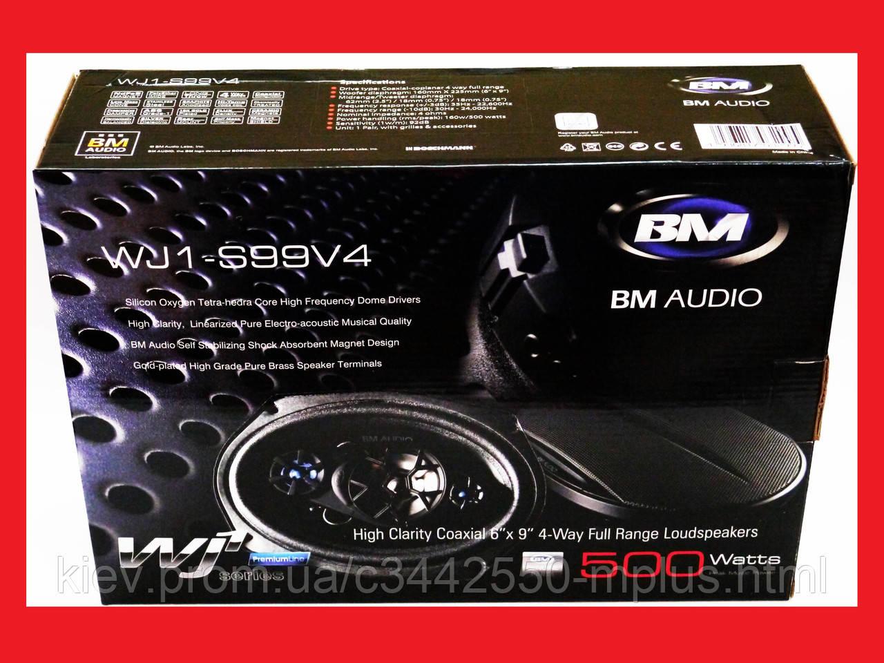 6x9 BOSCHMANN BM Audio WJ1-S99V4 500W 4х полосные