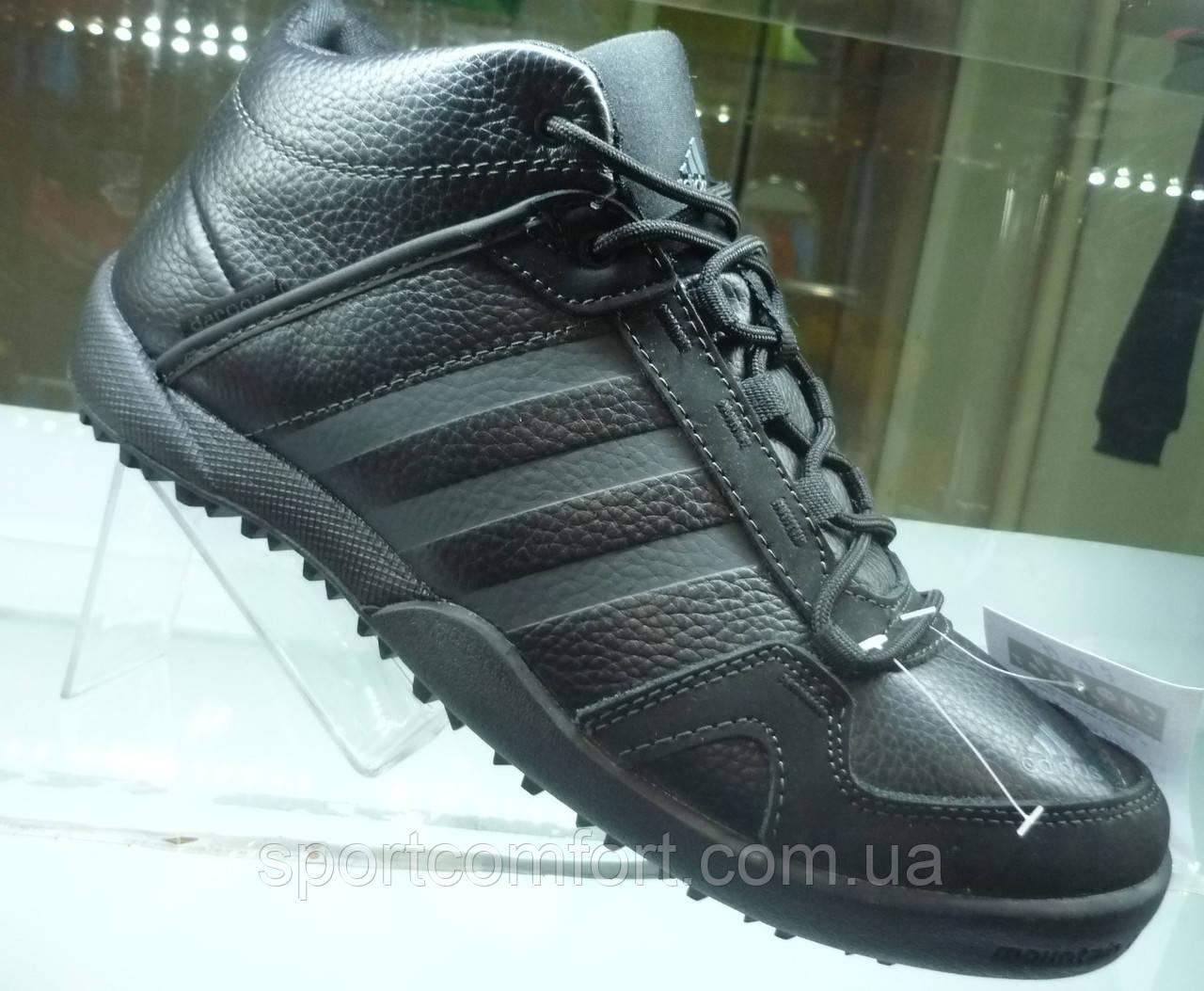 Кроссовки мужские Adidas Daroga черные зима