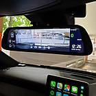 "DVR MR-810 Зеркало с видеорегистратором ANDROID Экран 10"" 4G WiFi GPS две камеры, фото 3"