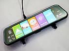 "DVR MR-810 Зеркало с видеорегистратором ANDROID Экран 10"" 4G WiFi GPS две камеры, фото 6"