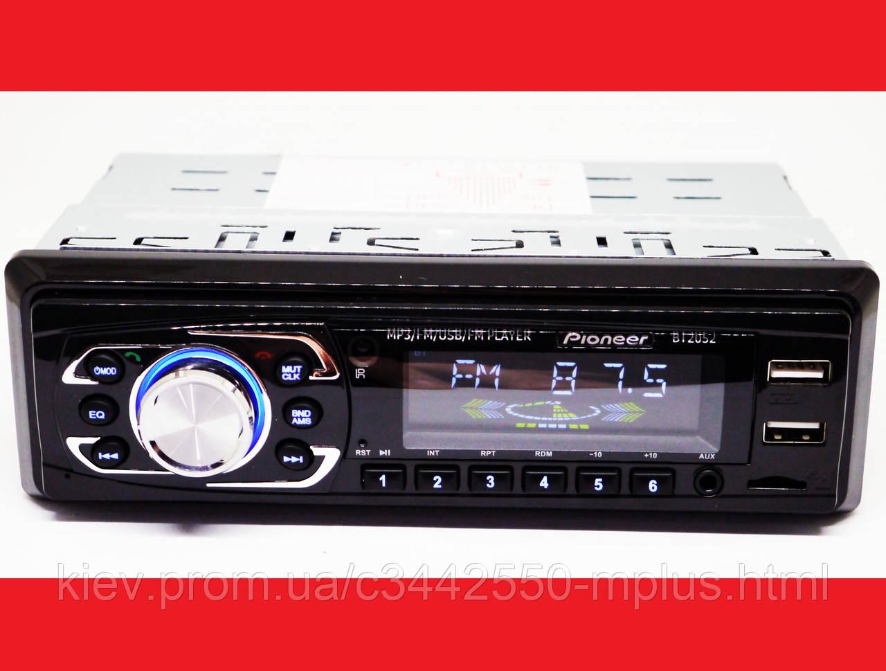 Автомагнитола Pioneer 2052BT Bluetooth ISO FM, USB, SD, AUX